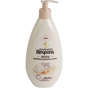 Bodylotion Garnier Respons Oat Cream, 400 ml, 3606871