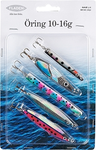 Dragsortiment Fladen Fishing Öring, 10-16g 5-pack, 1000713