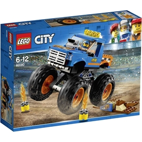 Byggklossar LEGO City Monstertruck, nr 60180, 3111387