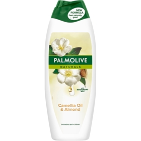 Duschcreme Palmolive Naturals Camelia Oil & Almond, 650 ml, 3609176