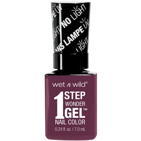Nagellack Wet n Wild 1 Step WonderGel Nail Color 734A Under My Plum, 7 g, 3607348