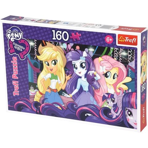 Pussel Trefl My Little Pony Equestria Girls, 160 bitar, 3111481