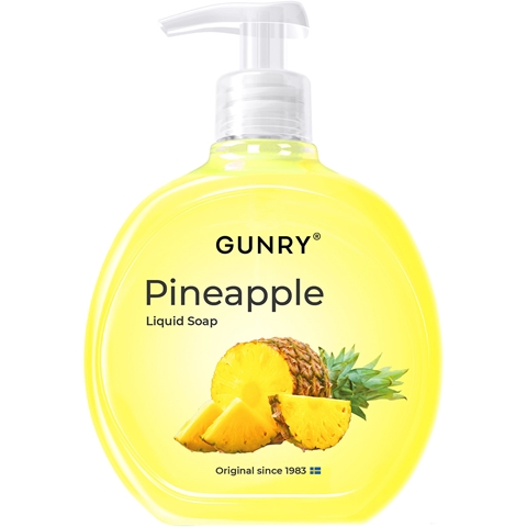 Flytande tvål Gunry Tropical Pineapple, 400 ml, 1601949