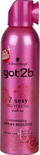Hårmousse Schwarzkopf got2b 2 Sexy Big Volume, 250 ml, 3605025
