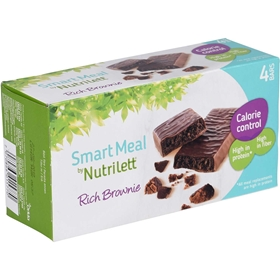 Måltidsersättningsbar Nutrilett Rich Brownie Bar, 4-pack, 3606702