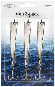 Drag Fladen Fishing Ven, 40g 3-pack, 1001123