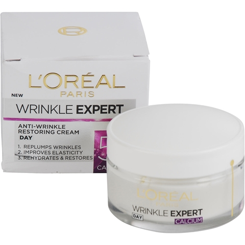 Dagcreme L'Oréal Paris Wrinkle Expert Anti-Wrinkle Restoring Cream 55+ Day, 50 ml, 3607267