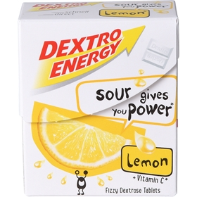 Druvsocker Dextro Energy Lemon, 50 g, 4008126