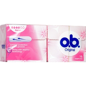 Tamponger o.b. Super, 16-pack, 3600297