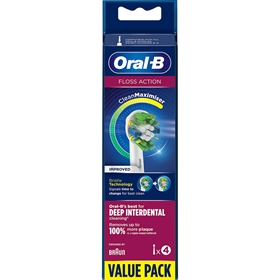 Tandborsthuvud Oral-B Floss Action, 4-pack, 3609507