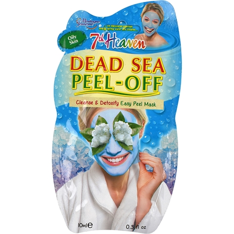Ansiktsmask Montagne Jeunesse 7th Heaven Dead Sea Peel-Off Masque, 10 ml, 3608194