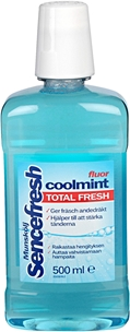 Munskölj Sencefresh, Coolmint med fluor 500 ml, 3606012