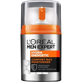 Ansiktslotion L'Oréal Men Expert Hydra Energetic Comfort Max Moisturiser Anti-Dryness, 50 ml, 3604560