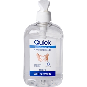 Handdesinfektion Quick Gel, 500 ml, 3609312