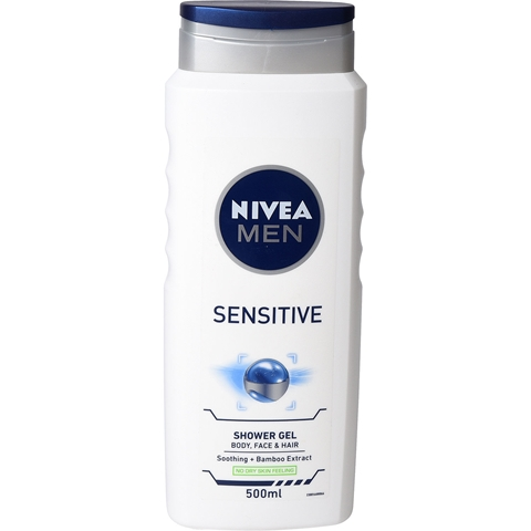Duschgel Nivea Men Sensitive, 500 ml, 3609425