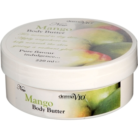 Body butter Derma V10 Mango, 220 ml, 3602797