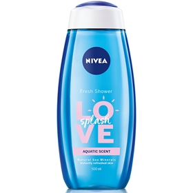 Duschcreme Nivea Love Spash, 500 ml, 3609164