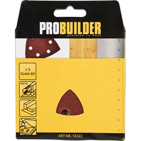 Slippapper till multimaskin ProBuilder, 60 5-pack, 3804764