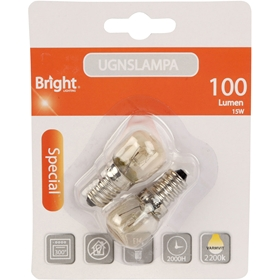 Ugnslampa E14 Bright, 15W 100lm, 5000233