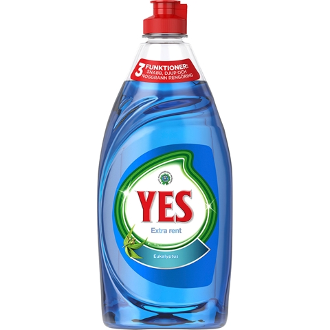 Diskmedel Yes Extra Rent Eukalyptus, 480 ml, 3607864
