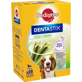 Hundtugg Pedigree Dentastix Fresh, 28-pack, 4100379