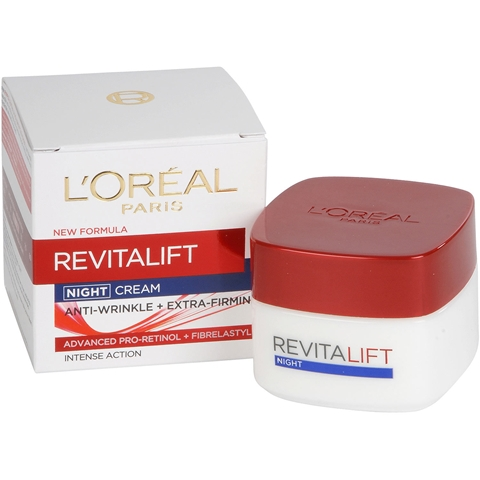 Nattcreme L'Oréal Paris Revitalift Night Cream, 50 ml, 1601548