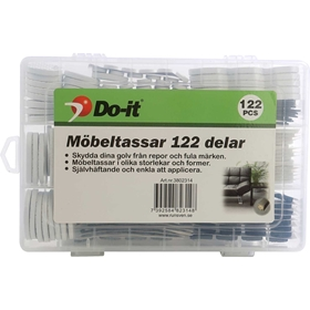 Möbeltassar Do-it, 122-pack, 3802314