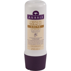 Hårinpackning Aussie 3 Minute Miracle Shine, 250 ml, 1601685