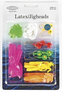 Jiggar Fladen Fishing Latex / Jigheads, 3-15g 30-pack, 1000726