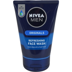 Ansiktstvätt Nivea For Men Originals Refreshing Face Wash, 100 ml, 3605746