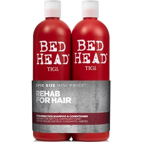 Schampo & balsam Tigi Bed Head Rehab For Hair Resurrection Tweens, 2-pack (2x750 ml), 3606023