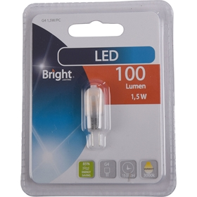 LED-lampa G4 Bright, 1,5W 100 lm, 5000208