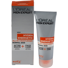 Ansiktscreme L'Oréal Men Expert Hydra Energetic  All-In-1 Moisturiser Normal Skin, 75 ml, 3605764
