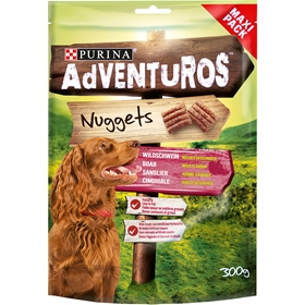 Hundgodis Purina Adventuros Nuggets, 300 g, 4100381