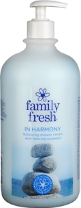 Duschcreme Family Fresh, In Harmony 1 liter, 3603924