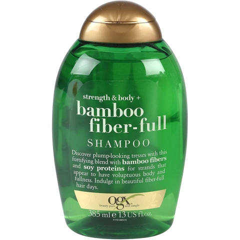 Schampo OGX Strength & Body Bamboo Fiber-Full, 385 ml, 3608589