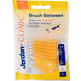 Mellanrumsborste Jordan Clinic Brush Between Large, 10-pack, 3608523