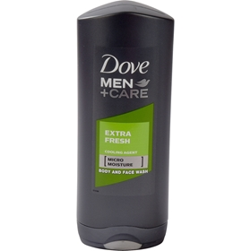 Duschgel Dove For Men Extra Fresh, 400 ml, 3608047