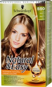 Hårfärg Schwarzkopf Natural & Easy 550 Satin, 145 ml, 3604960