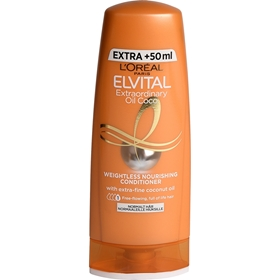 Balsam L'Oréal Paris Elvital Extraordinary Oil Coconut, 250 ml, 3609370