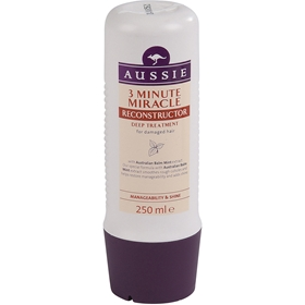 Hårinpackning Aussie 3 Minute Miracle Reconstructor, 250 ml, 1601679