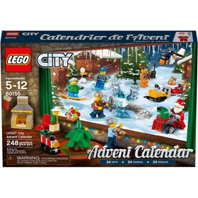 Adventskalender LEGO City 60155, 3111064