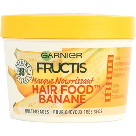 Hårinpackning Garnier Fructis Hair Food Banana, 390 ml, 3608801