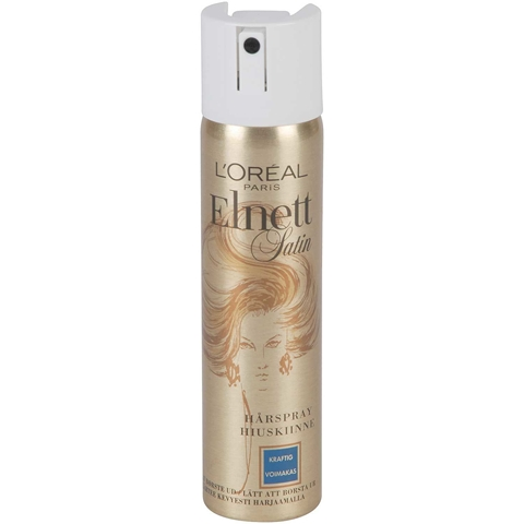Hårspray L'Oréal Paris Elnett Satin, 75 ml, 3606655
