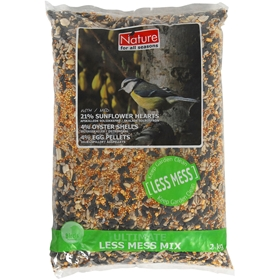 Fågelfrön Nature, Ultimate Less Mess Mix lyxblandning 2 kg, 4100118