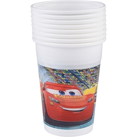 Plastglas Disney Pixar Cars 3, 20cl 10-pack, 3111076