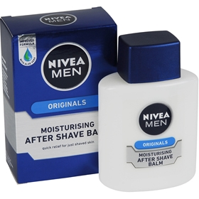 Aftershave Nivea For Men, Originals Moisturising After Shave Balm 100 ml, 3601535