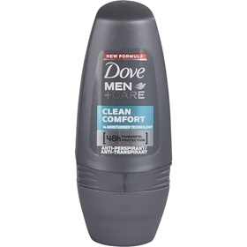 Deo roll-on Dove Men +Care Clean Comfort, 50 ml, 3606406
