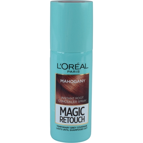 Färgspray L'Oréal Paris Magic Retouch Instant Root Concealer Hair Spray Mahogany Brown, 75 ml, 3608274