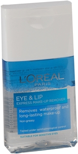 Sminkborttagning L'Oréal Paris Eye & Lip Express Make-Up Remover, 125 ml, 3604972